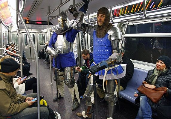Many Brits Going Back to Suits of Armor Due to Constant Terror Threats
