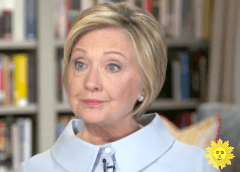 Hillary Clinton Looking Like a Turtle On Book Tour Interviews