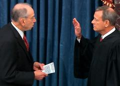 Chief Justice Roberts Left Hanging After Failed High-Five Attempt