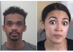 Antifa Rioter With 'AOC Eyes' Arrested After Posing As MAGA Supporter