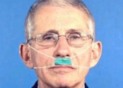Dr. Fauci Suggests Babies Start Wearing Masks While Still Inside Womb