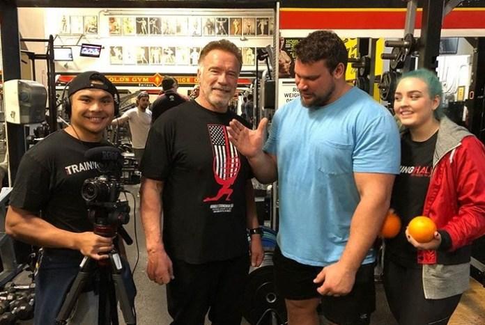Martins Licis Arnold Schwarzenegger World's Strongest Man