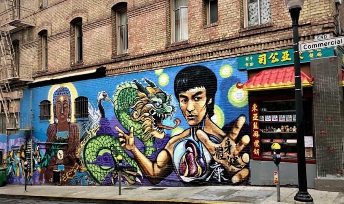 Bruce Lee mural