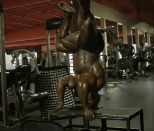 Kai upside-down