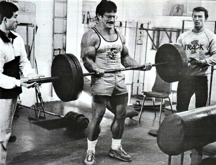Mike Mentzer training routine