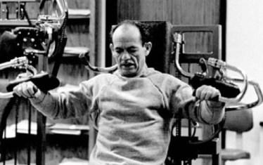 Arthur Jones working out
