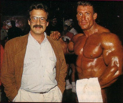 Mike Mentzer and Dorian Yates