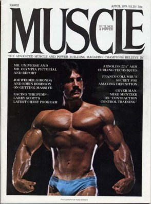 Mike Mentzer magazine cover