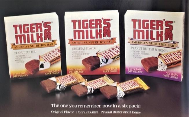 Tiger's Milk ad 1990