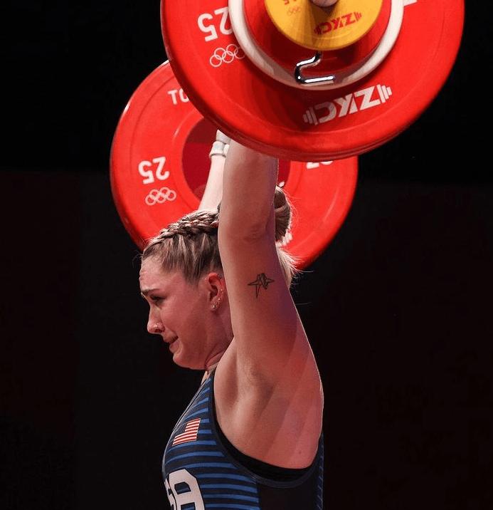 Kate Nye 2020 Olympic weightlifting