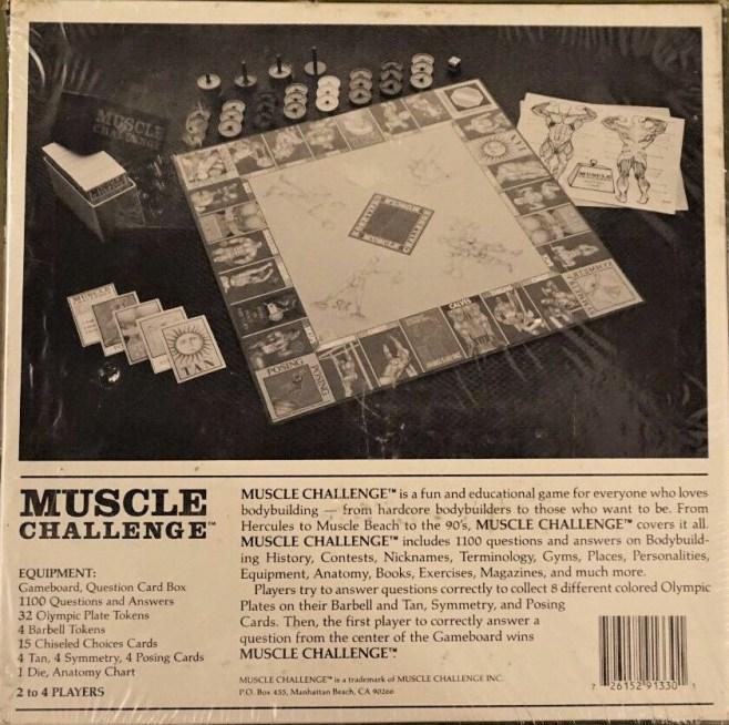 Muscle Challenge box back