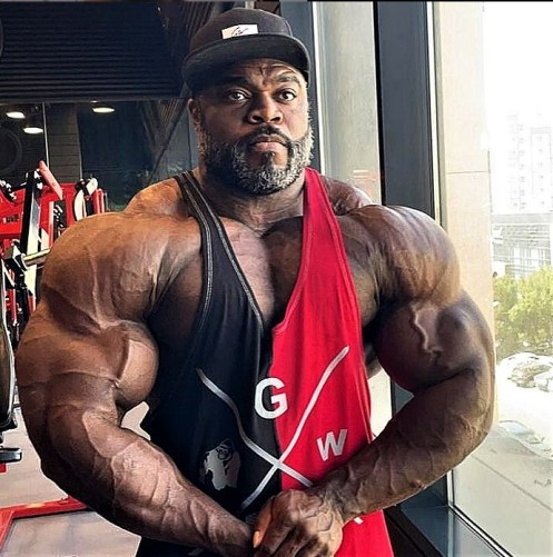 Brandon Curry before 2021 Olympia