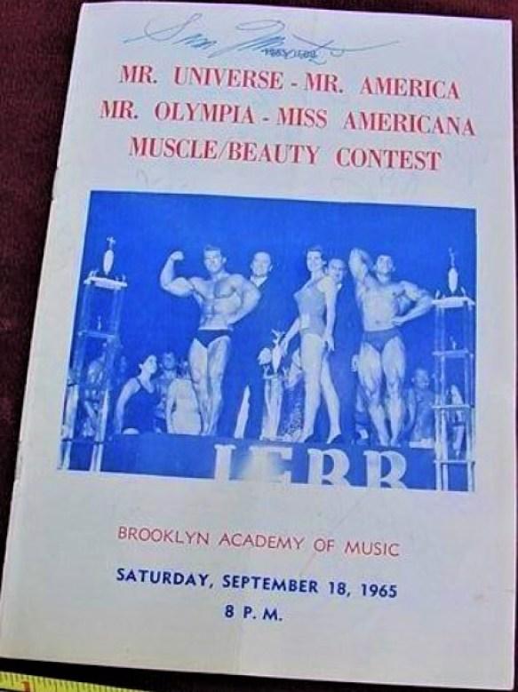 1965 Mr. Olympia