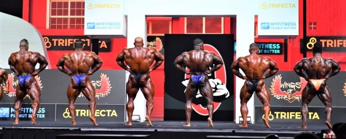 2021 Mr. Olympia results