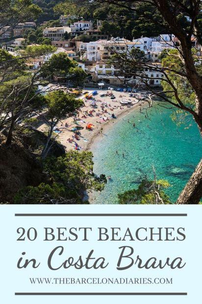Best Beaches in Costa Brava Pinterest