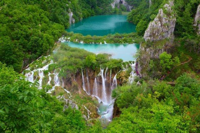 Plitvice Lakes National Park in Croatia DP