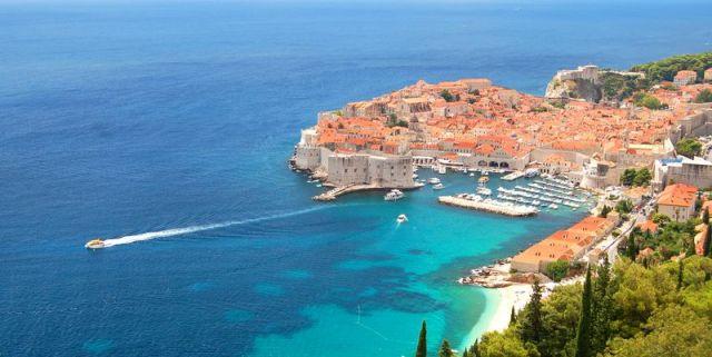 old town of Dubrovnik Croatia