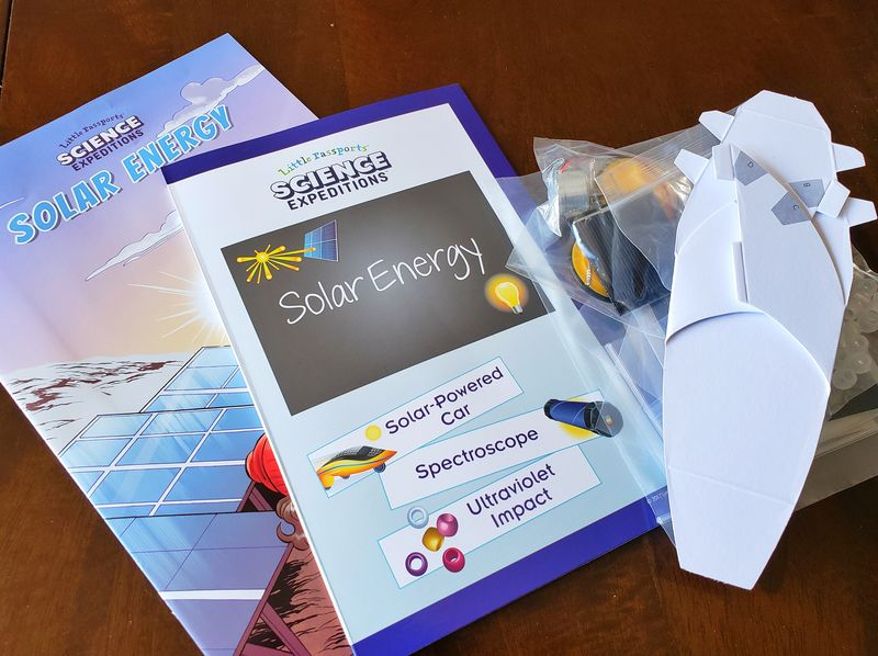 Little Passports Science Expeditions Solar energy with solar car