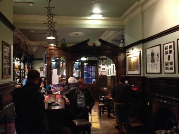 Sandy Bell's was quiet when we first arrived but soon filled up