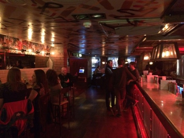 For early on a Wednesday night, The Boozy Cow was pretty busy