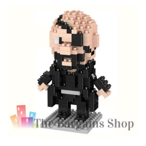 Micro Blocks Superheroes Nick Fury