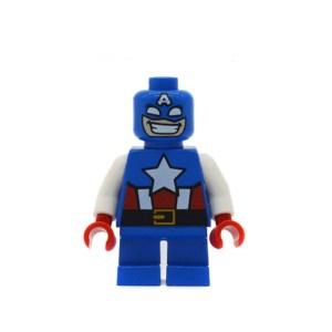 Block Minifigure Captain America Small Legs