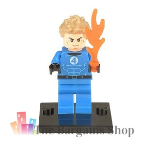 Block Minifigure Human Torch