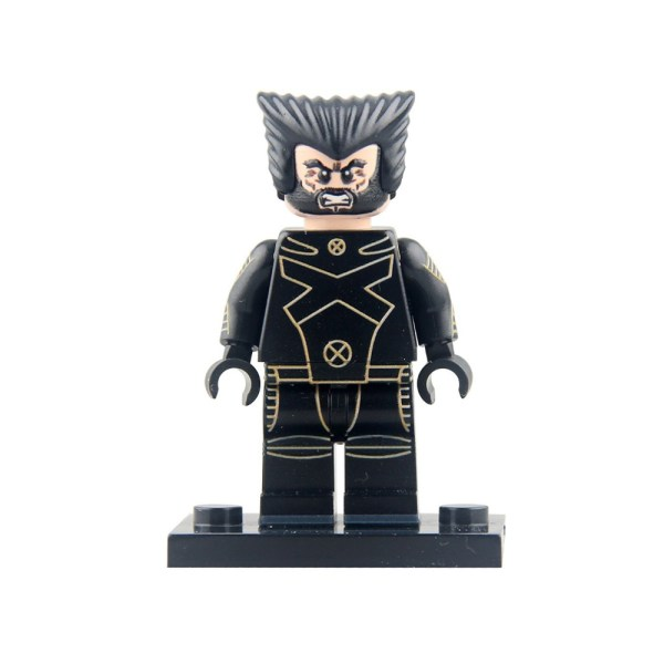 Block Minifigure Logan