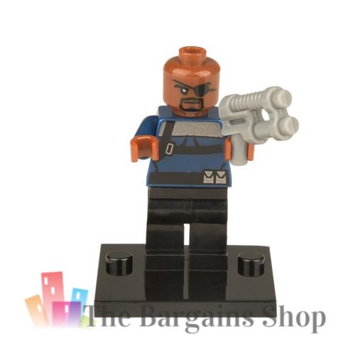 Block Minifigure Nick Fury