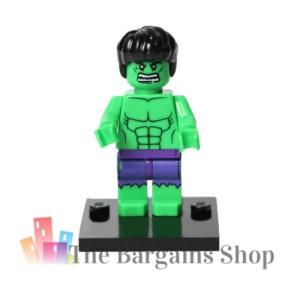 Block Minifigure Hulk