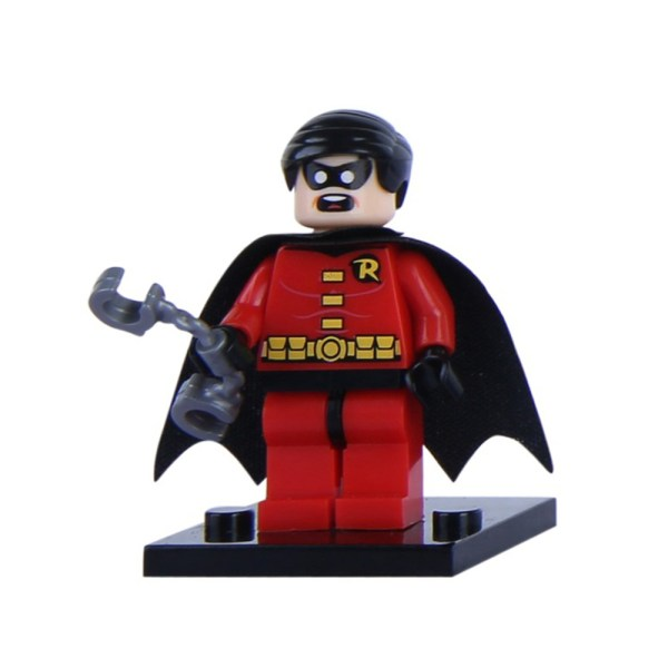 Block Minifigure Robin