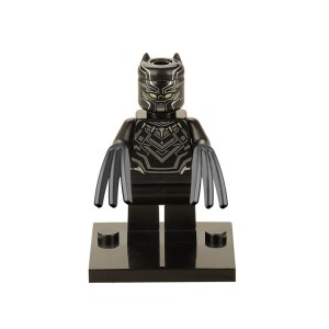 Block Minifigure Black Panther
