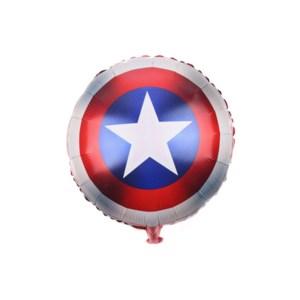 Round Foil Balloon Captain America