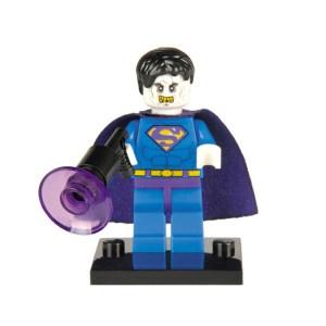 Block Minifigure Superman Bizarro