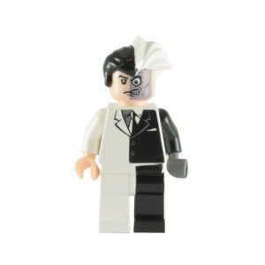 Block Minifigure Two Face