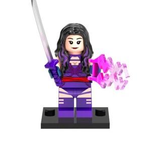 Block Minifigure Psylocke 1