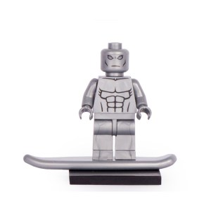 Block Minifigure Silver Surfer