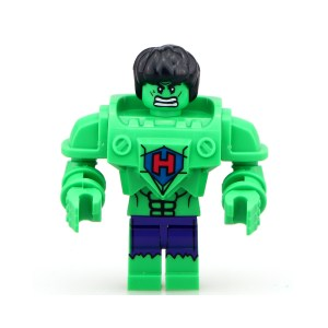 Block Minifigure Hulk Armoured