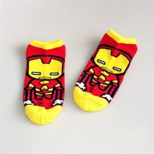 Marvel Trainer Socks Iron Man