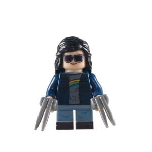 Block Minifigure Wolverine X-23 Small Legs