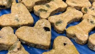 photo of blueberry quinoa cookies