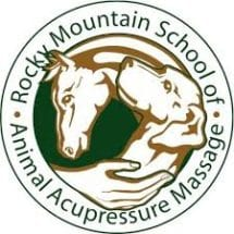 Logo for Rocky Mountain School of Animal Acupressure and Massage