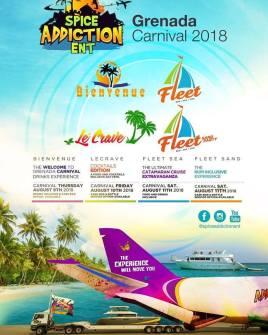 Spice Addiction Entertainment 2018 events
