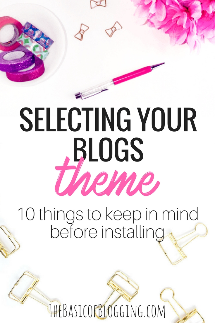 Selecting Your Blogs- What to look for before installing