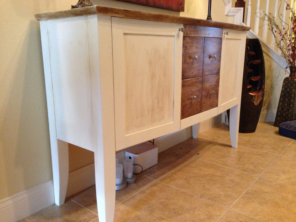 How To Chalk Paint Kitchen Cabinets The Basic Woodworking