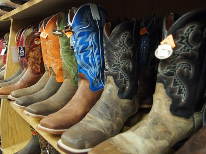 Cowboy Boots in Cheyenne, Wyoming