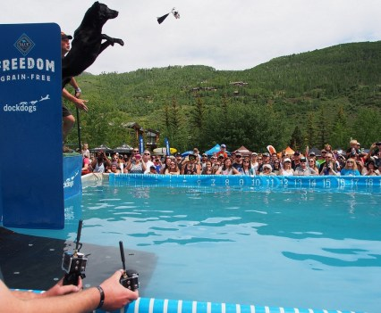 GoPro Mountain Games -DockDogs - Photo by Charles Watkins