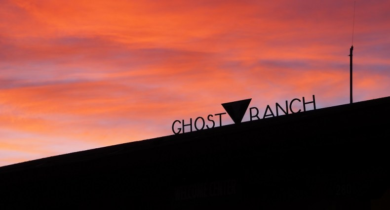 Sunset at Ghost Ranch, NM