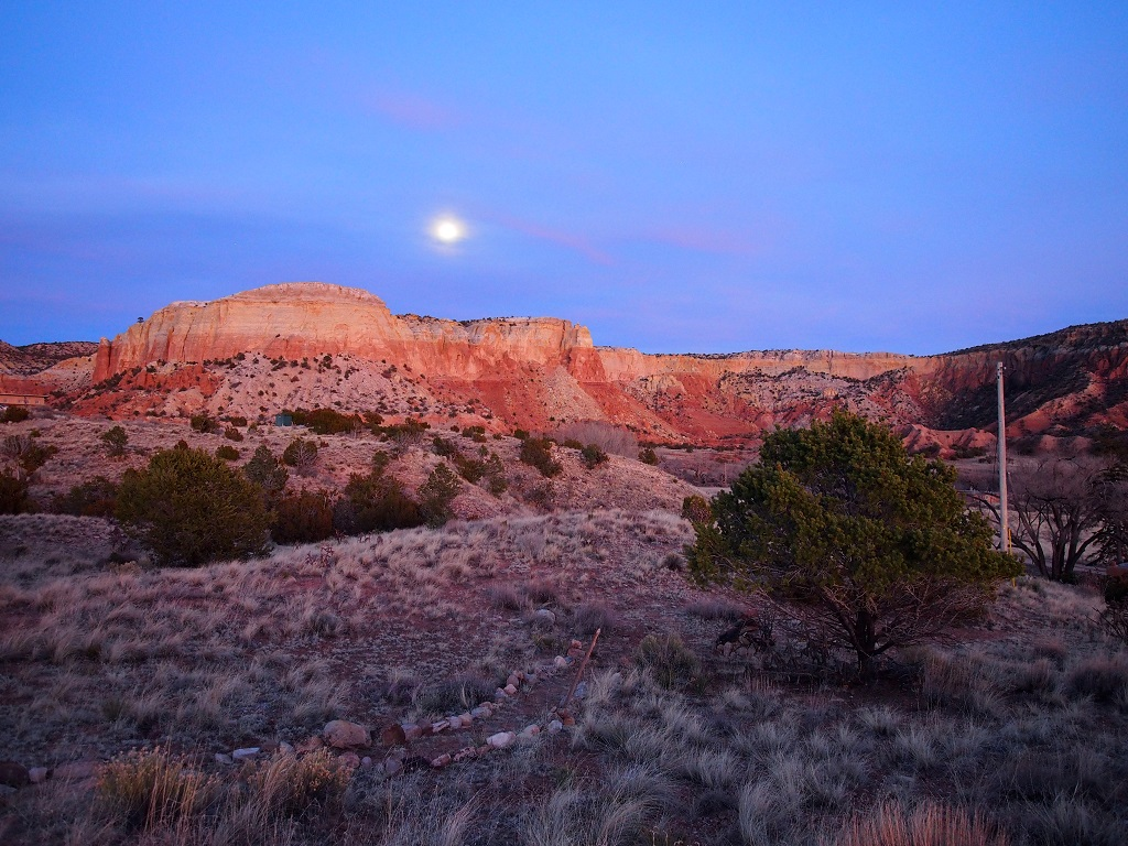 Ghost Ranch in the Evening Light