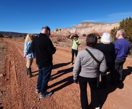 Okeefee Landscape Tour ghost ranch